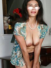 Asian granny pussy 11