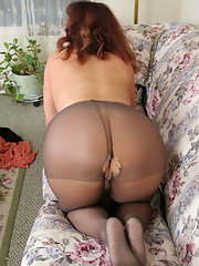 Are not chubby milf pantyhose