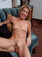 posing wife aged red nude mature blonde